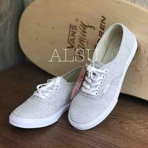 VANS AUTHENTIC Lo Pro Speckle Jersey Grey Kid's